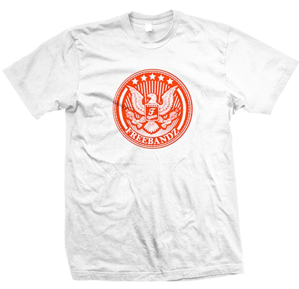 Freebandz Emblem Tee – White/Red
