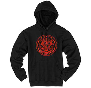 Freebandz Emblem Hoodie – Black/Red