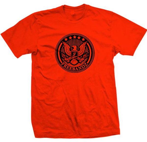 Red Freebandz Emblem Tee