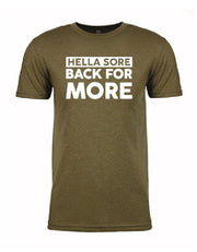 Hella Shore Bak for More - Gym T-Shirt