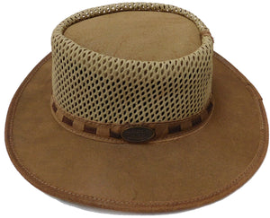 Rogue Ventilated Leather Outdoor Hat
