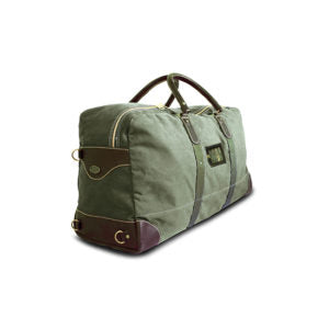Canvas 9 Liter Pilot Duffel Bag in Lime, Sand or Slate - The Rogue 9 RAF