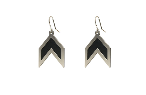 Earrings Graphic Angles