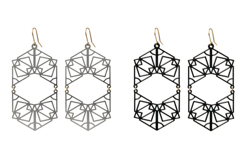 Earrings Double Symmetric