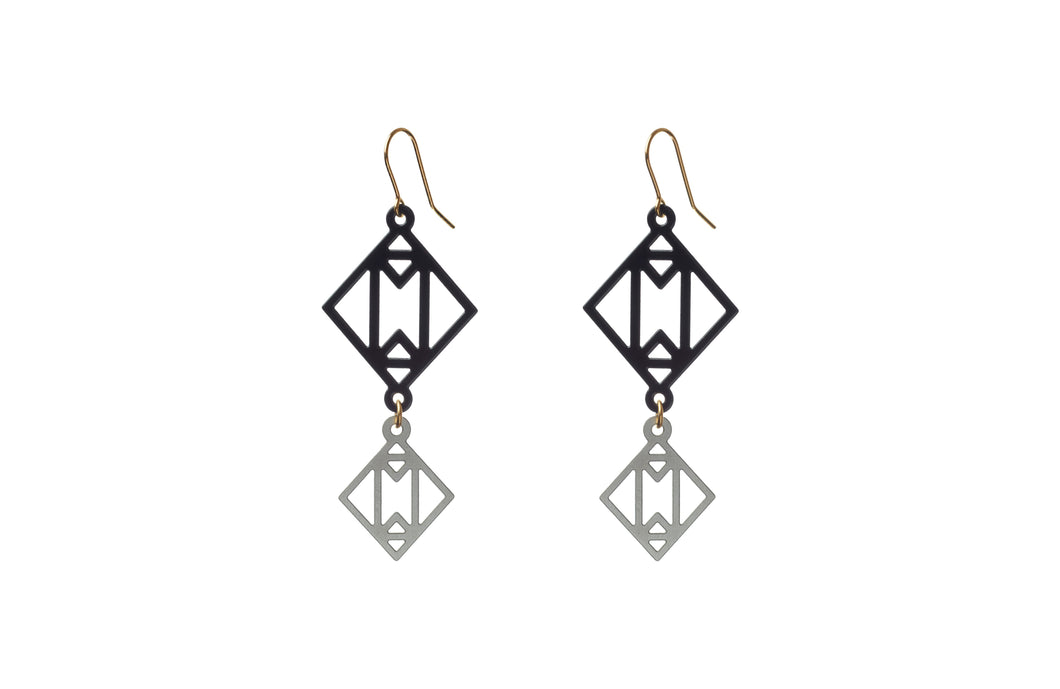 Earrings Symmetric Together