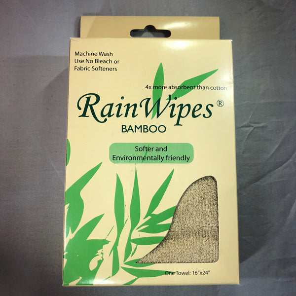 20490 RainWipes Bamboo 24'' x 16'' Tan (75/Case)