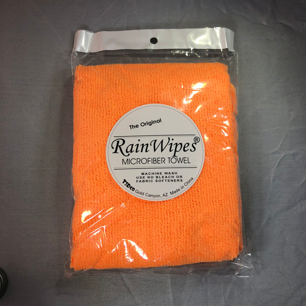 20600 RainWipes PetWipes 16'' x 12'' Orange (100/Case)