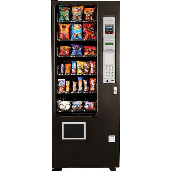 90050 MegaVendor Mini Snack Vendor - Black (Call 520-722-7940 for Shipping)