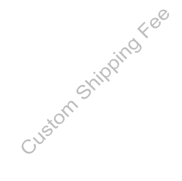 Custom Shipping Fee