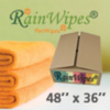 20618 RainWipes PetWipes 48'' x 36'' Orange (30/Case)