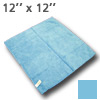 10380 RainWipes Microfiber Towel 12'' x 12'' Blue Individual