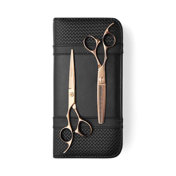 Lefty Matsui Aichei Mountain Rose Gold Shear Thinner Combo - Scissor Tech USA (1713871061058)