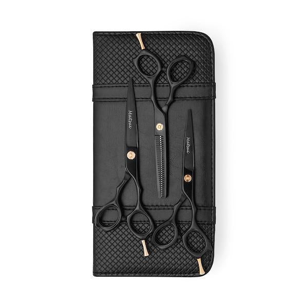Matsui Matte Black Precision Triple Set - Scissor Tech USA