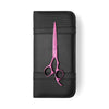 Matsui Neon Pink Offset Scissors - Scissor Tech USA
