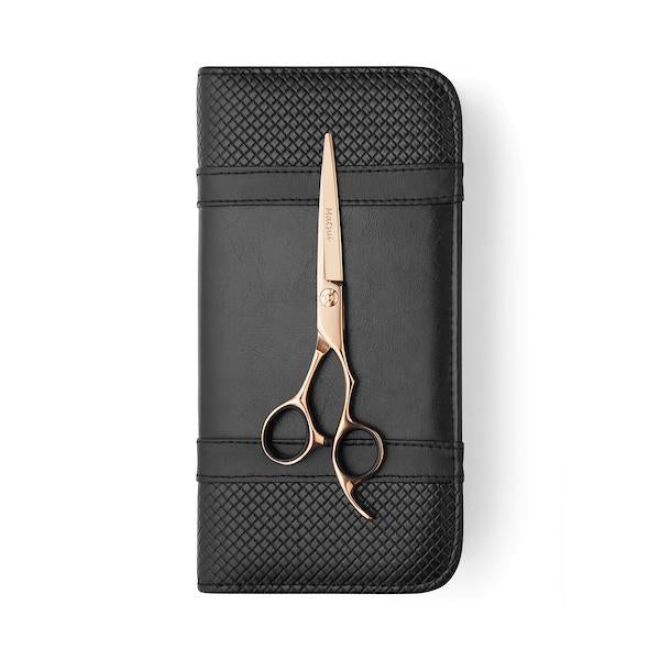 Matsui Rose Gold Aichei Mountain Offset Shear - Scissor Tech USA