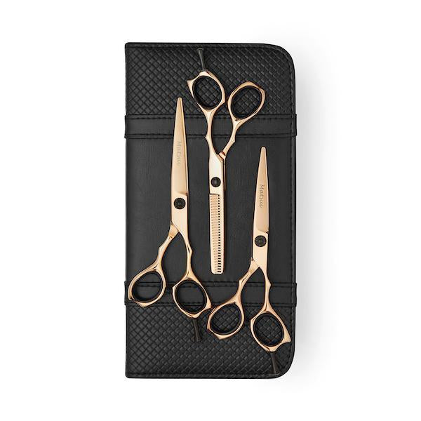 Rose Gold Matsui Precision Triple Set - Scissor Tech USA (1639211597890)