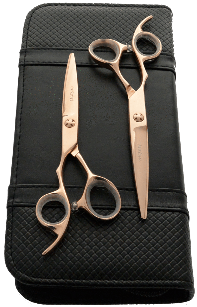 LEFTY - Matsui Rose Gold Scissor Twin Set - Scissor Tech USA