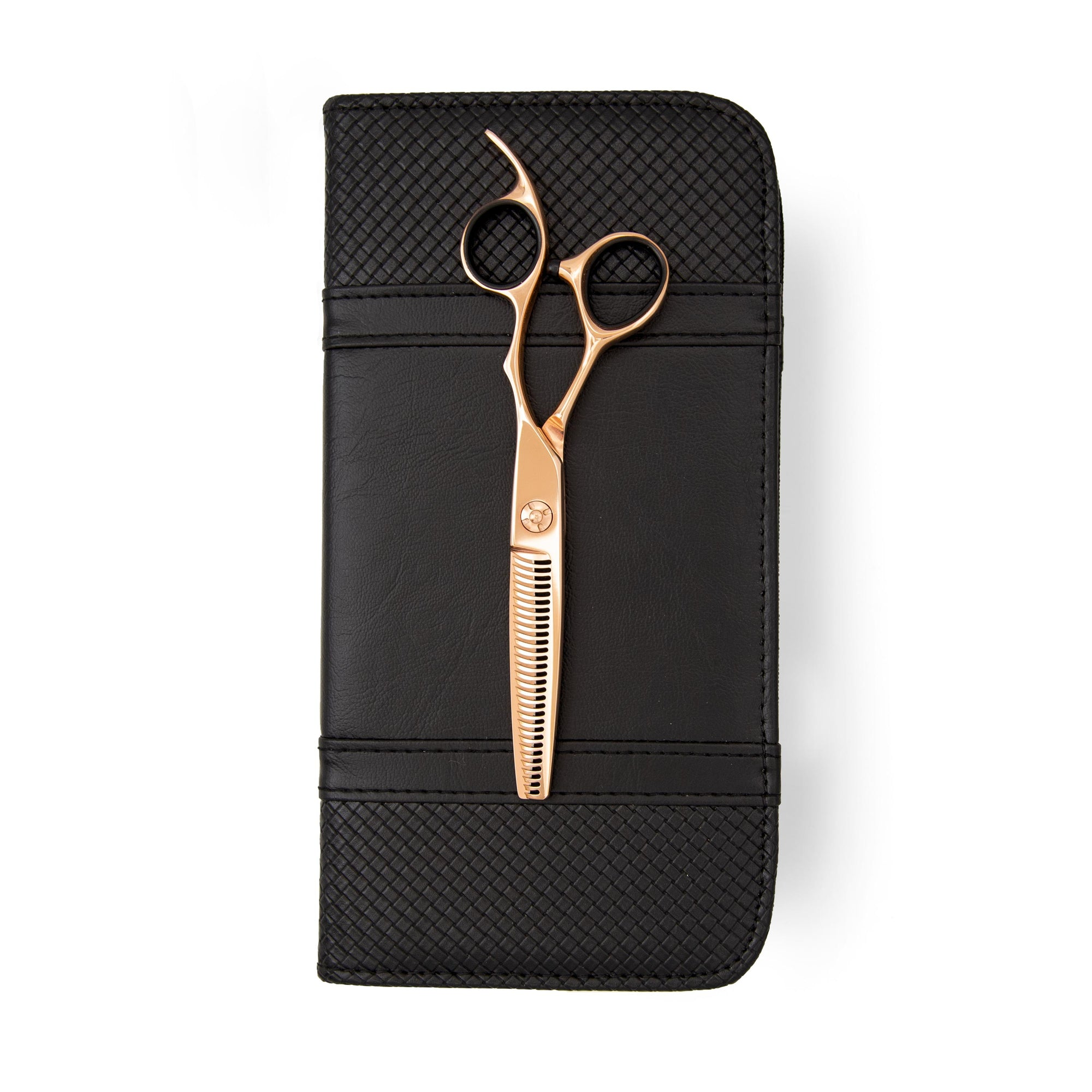 LEFTY Matsui Rose Gold Thinner 6 Inch - Scissor Tech USA
