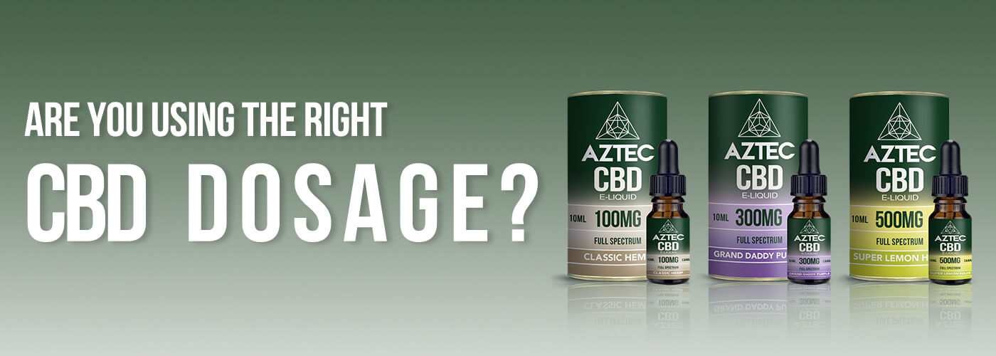 Are you using the right CBD dosage?