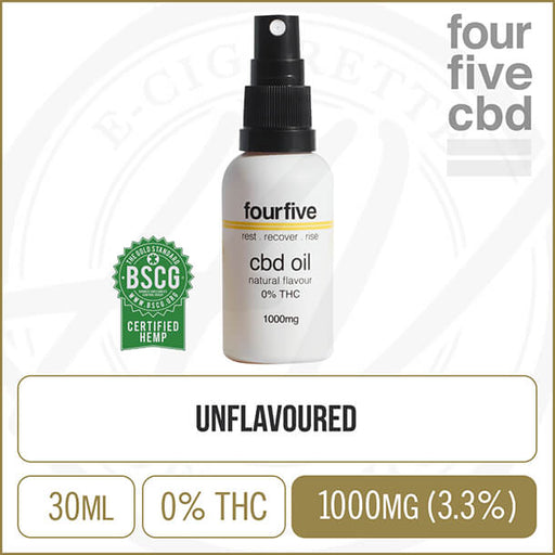 fourfivecbd | 0% THC Natural Oil