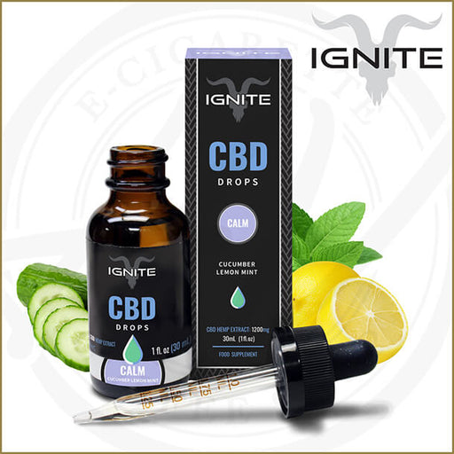 Ignite CBD | Cucumber Lemon & Mint Drops
