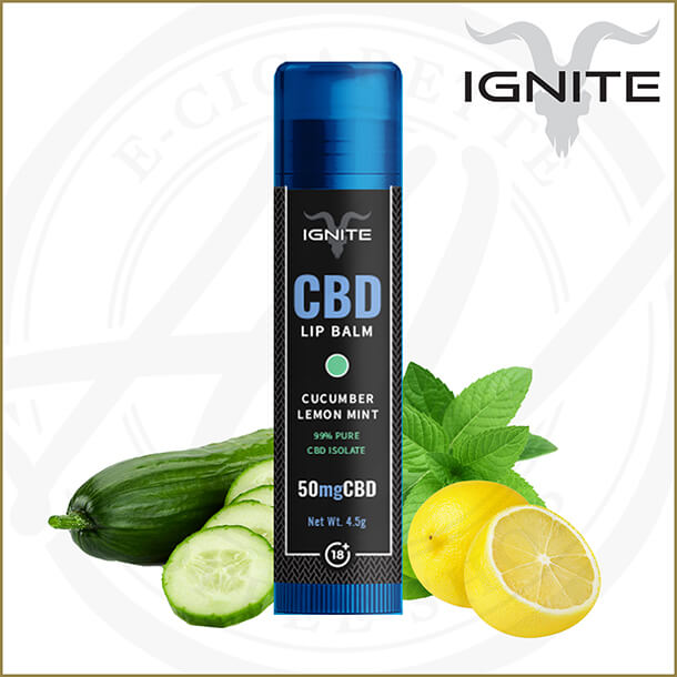 Ignite CBD | Cucumber Lemon & Mint Lip Balm
