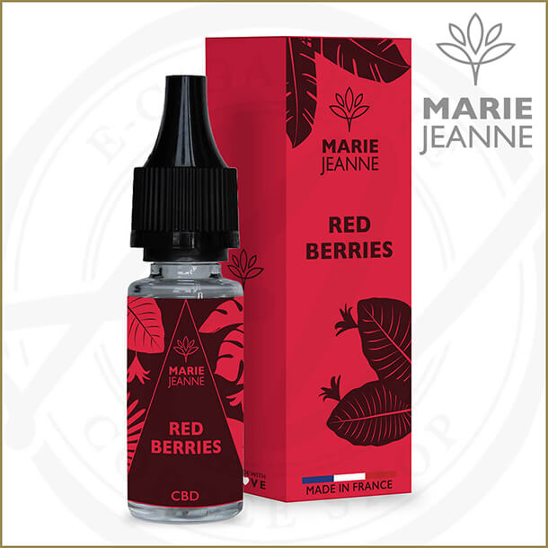 Marie Jeanne CBD E-Liquids | Red Berries