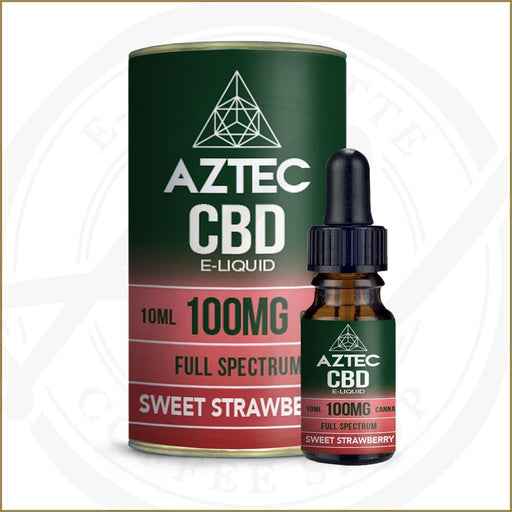 Aztec CBD E-Liquids | Sweet Strawberry