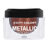 CITY COLOR Metallic Shadow Pot - Solar