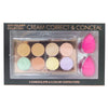 CITY COLOR Collection Cream Correct & Conceal Set