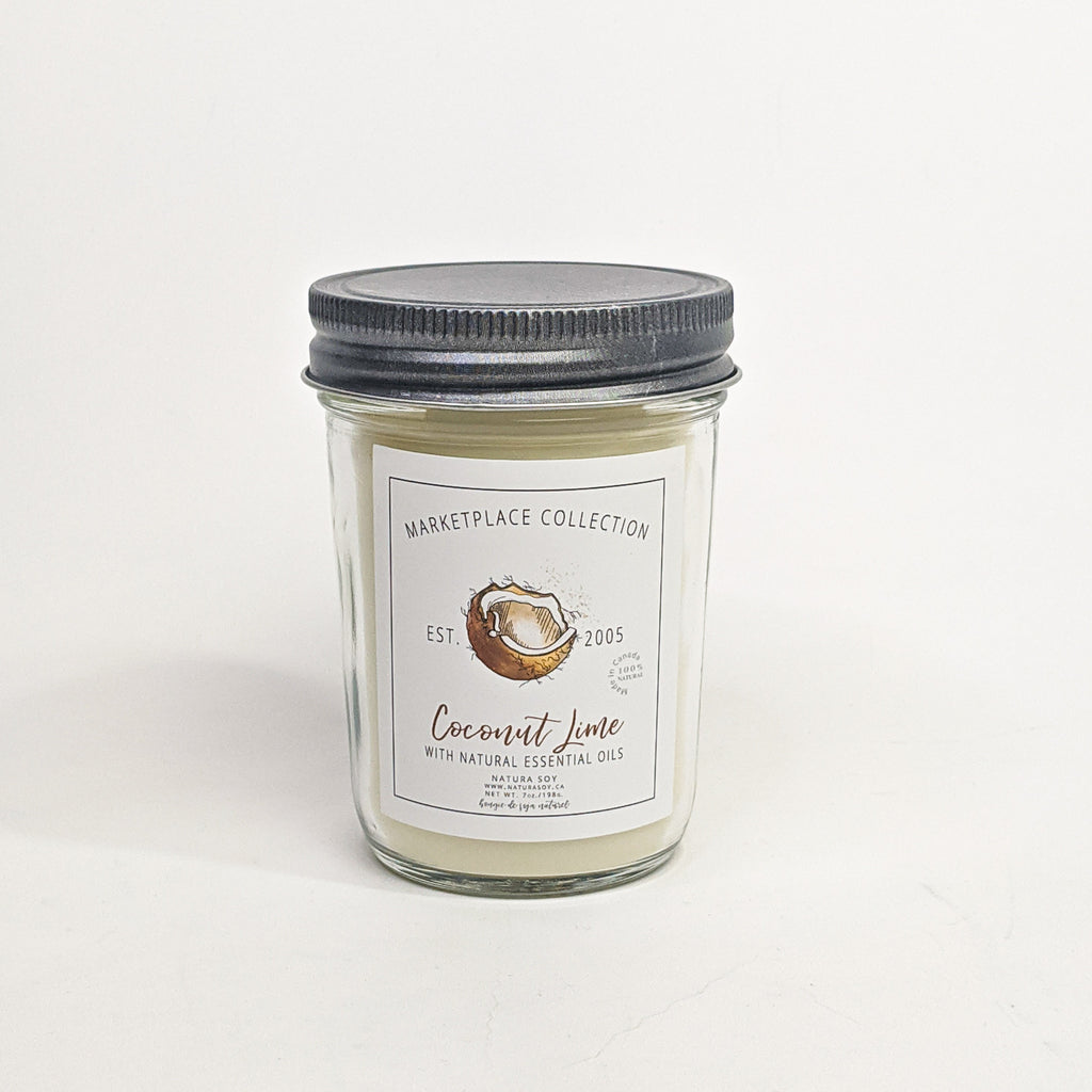 Coconut Lime Marketplace Candle 7 oz