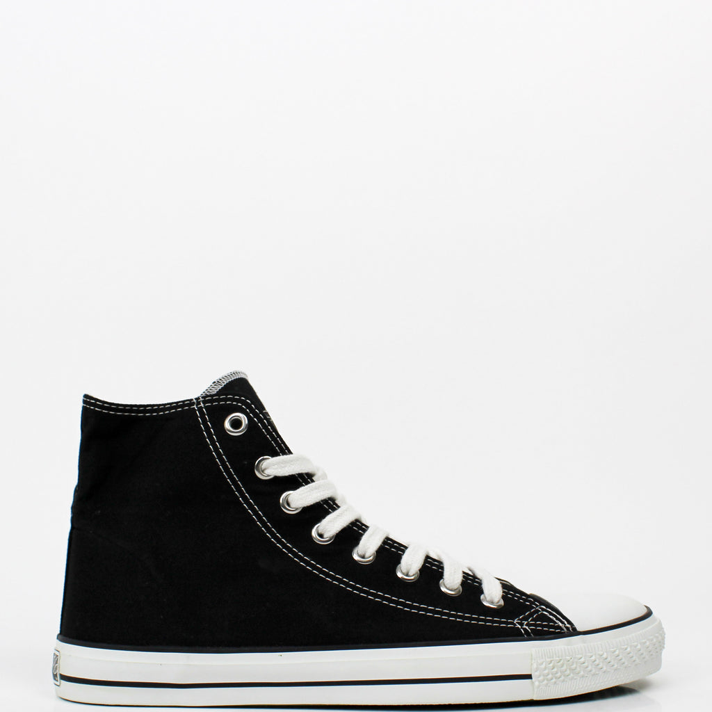 Hi Cut Sneakers Black