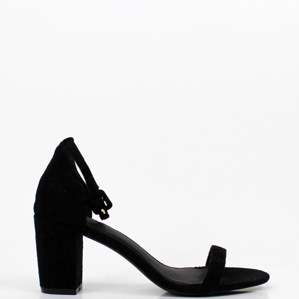 Hey Simone Block Heel Sandals Black