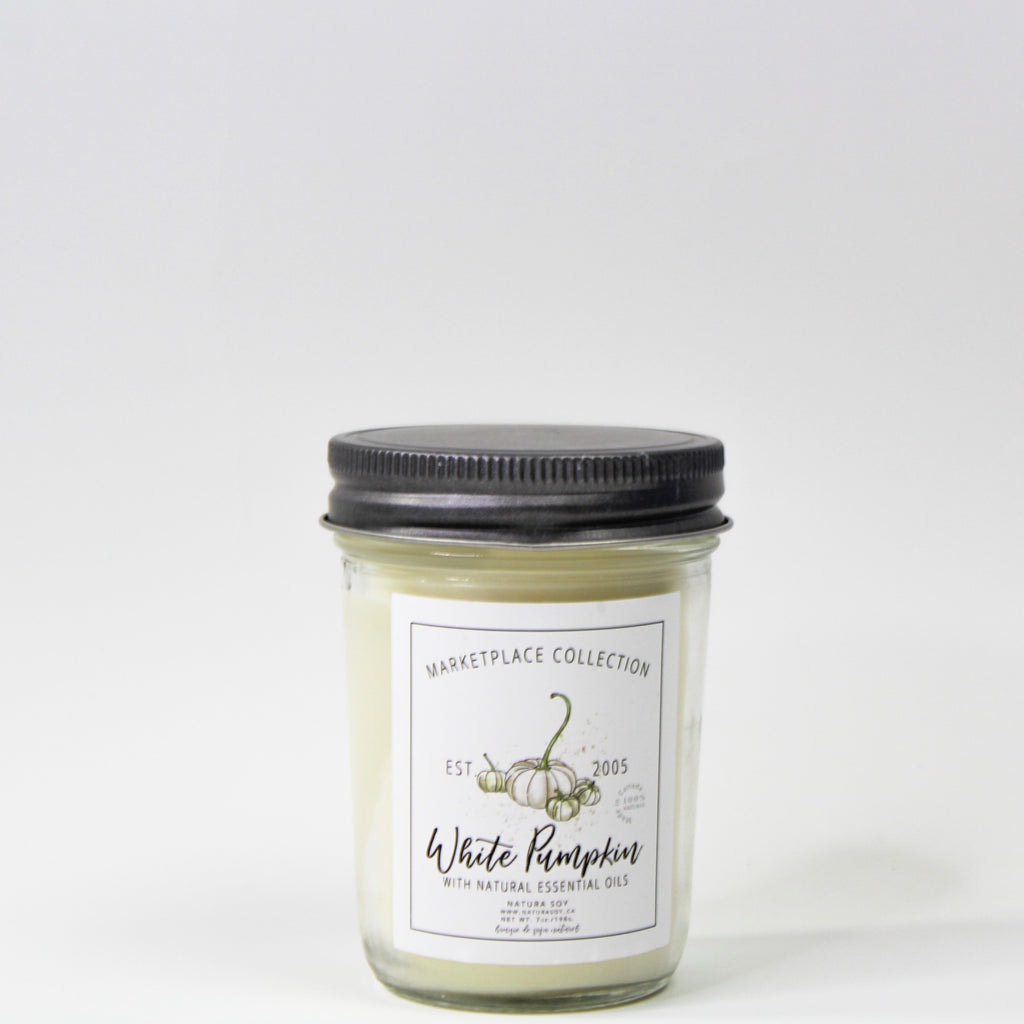 White Pumpkin Marketplace Candle 7 oz