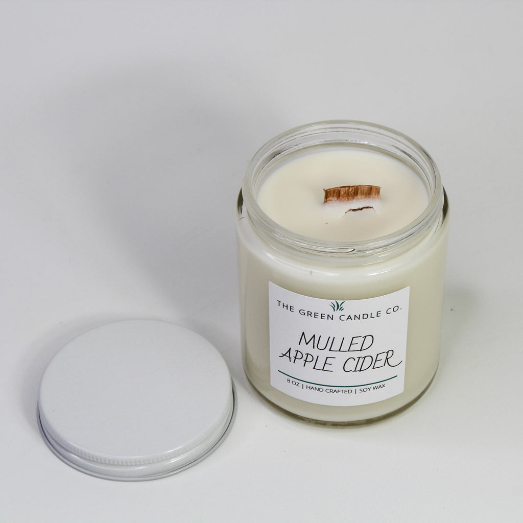 Mulled Apple Cider Handmade Soy Candle 8 oz