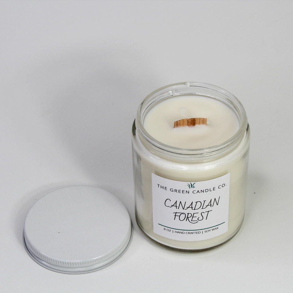 Canadian Forest Handmade Soy Candle 8 oz