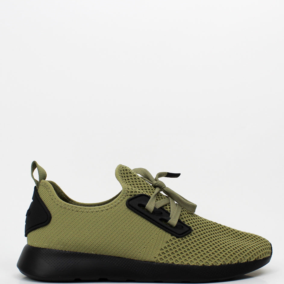 The Waldo Knit Sneakers Geo Green