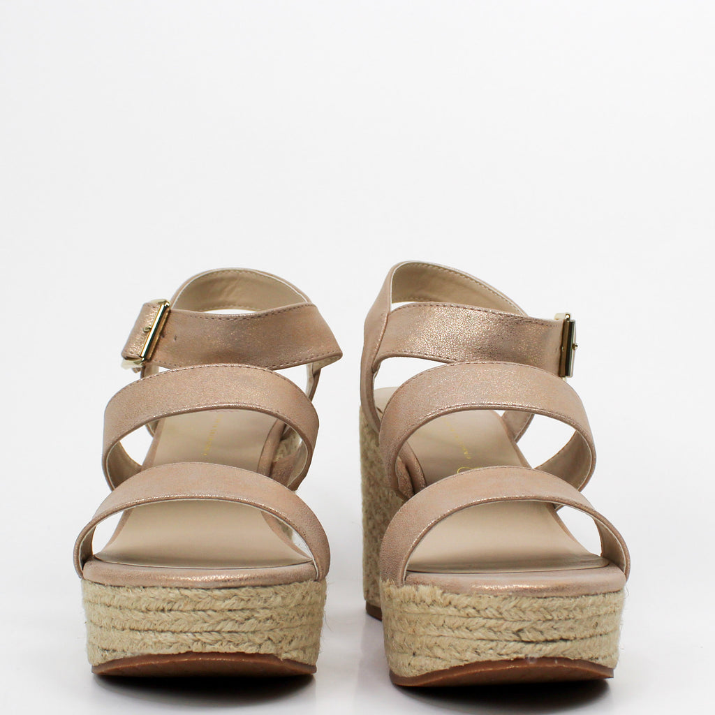Snack Bar Sandals Rose Gold