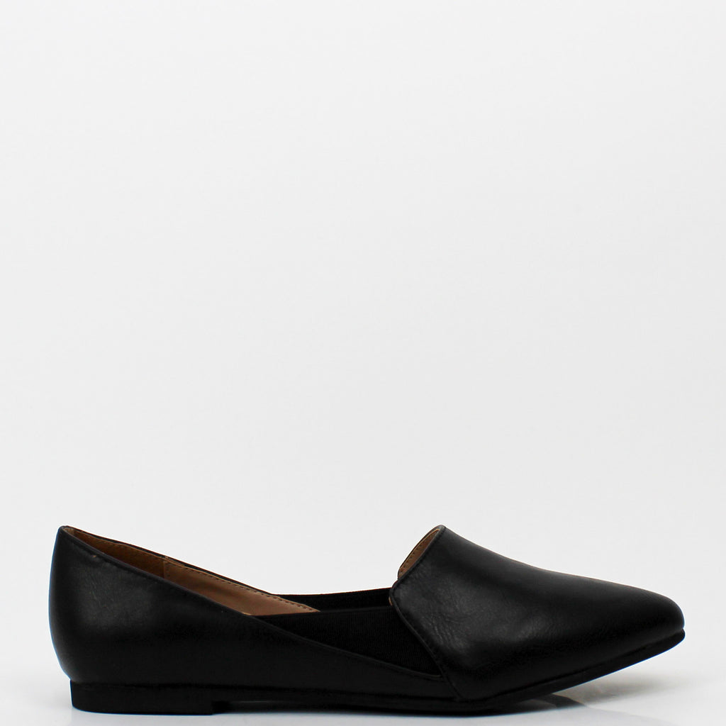 Westmount Loafer Flats Black