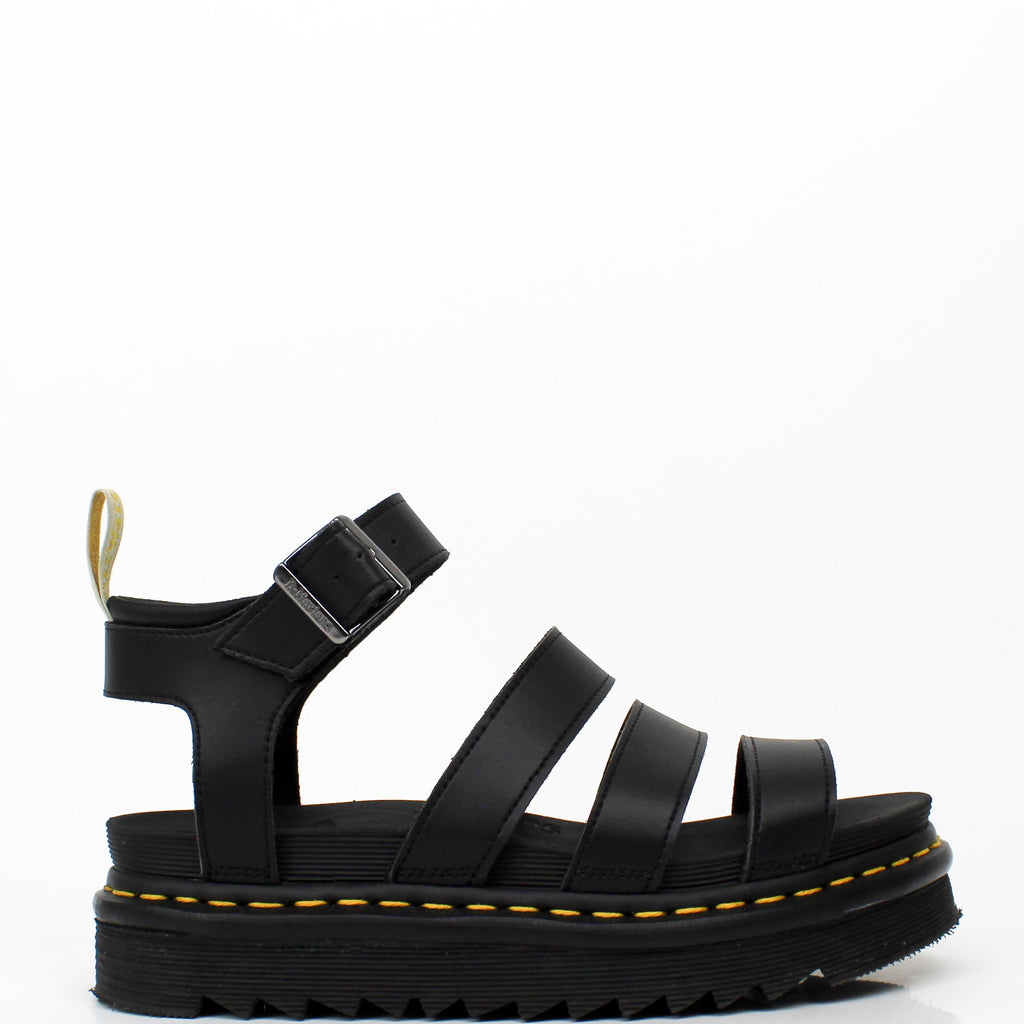 Vegan Blaire Gladiator Sandals Black