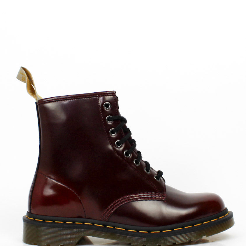 Vegan 1460 Boots Cherry Red