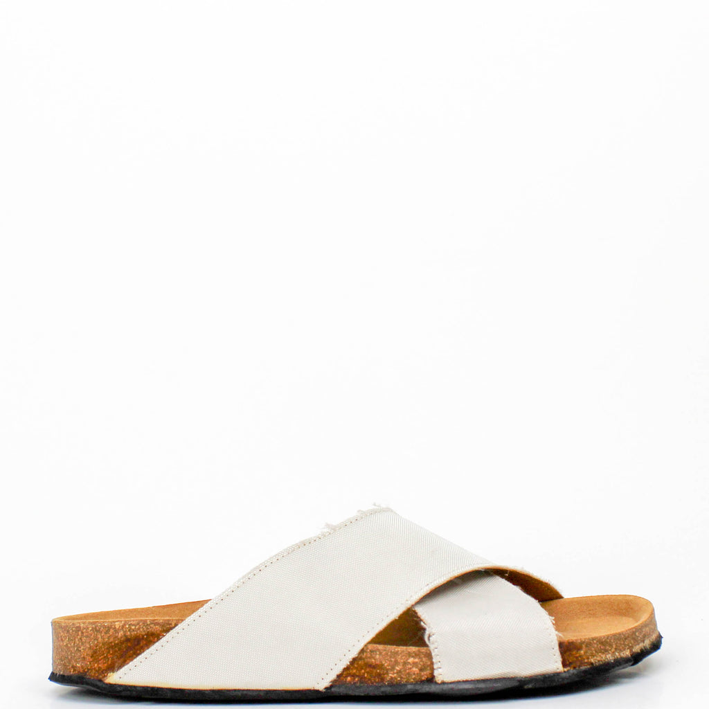Re-Car Sandals White