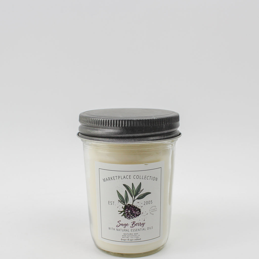 Sage Berry Marketplace Candle 7 oz