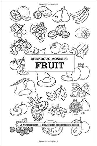 Doug McNish Fruit Colouring Book