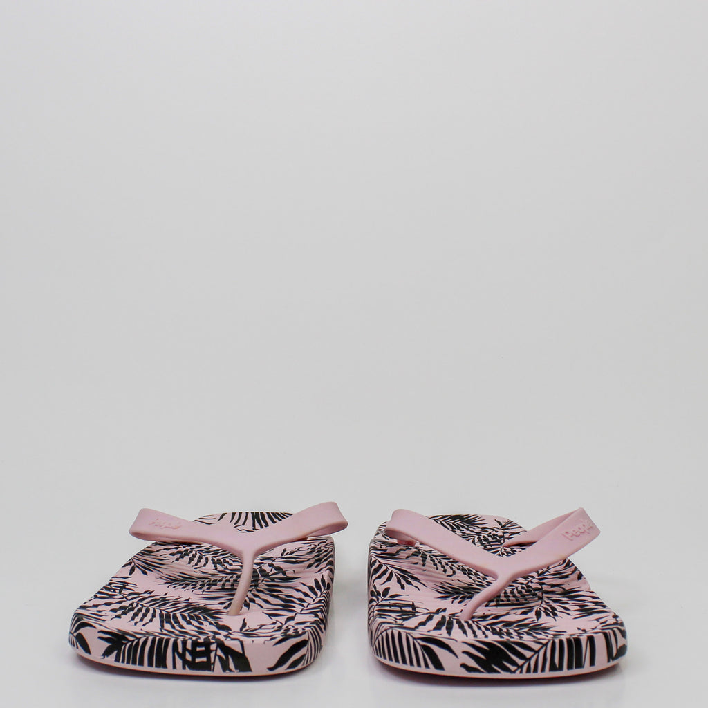 The Yoko Sandals Pink Palm