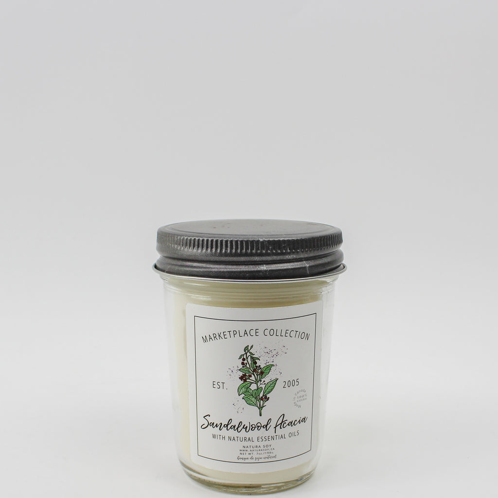 Sandalwood Acacia Marketplace Candle 7 oz