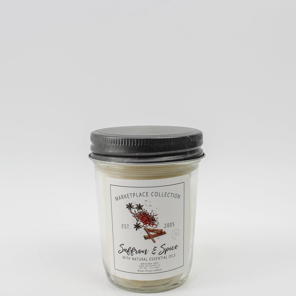 Saffron & Spice Marketplace Candle 7oz
