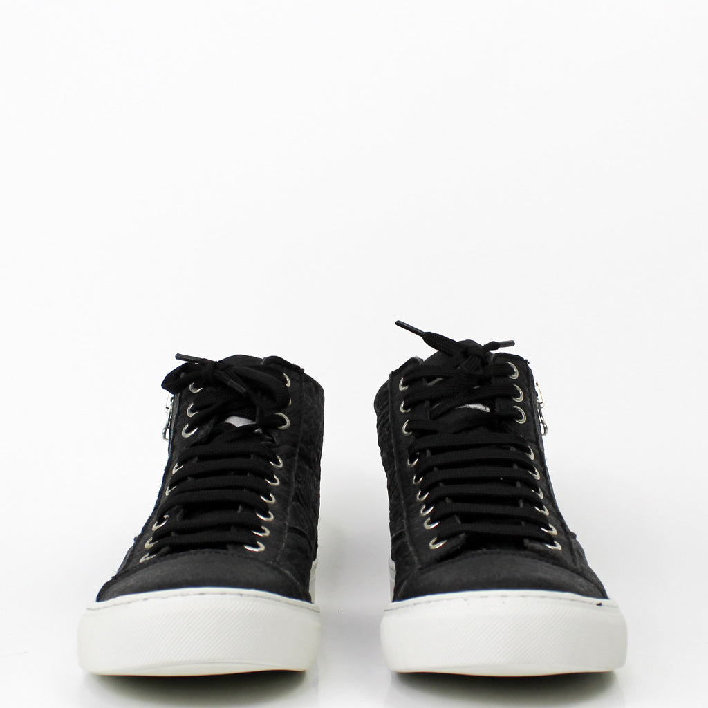 Milan Piñatex Sneakers Black