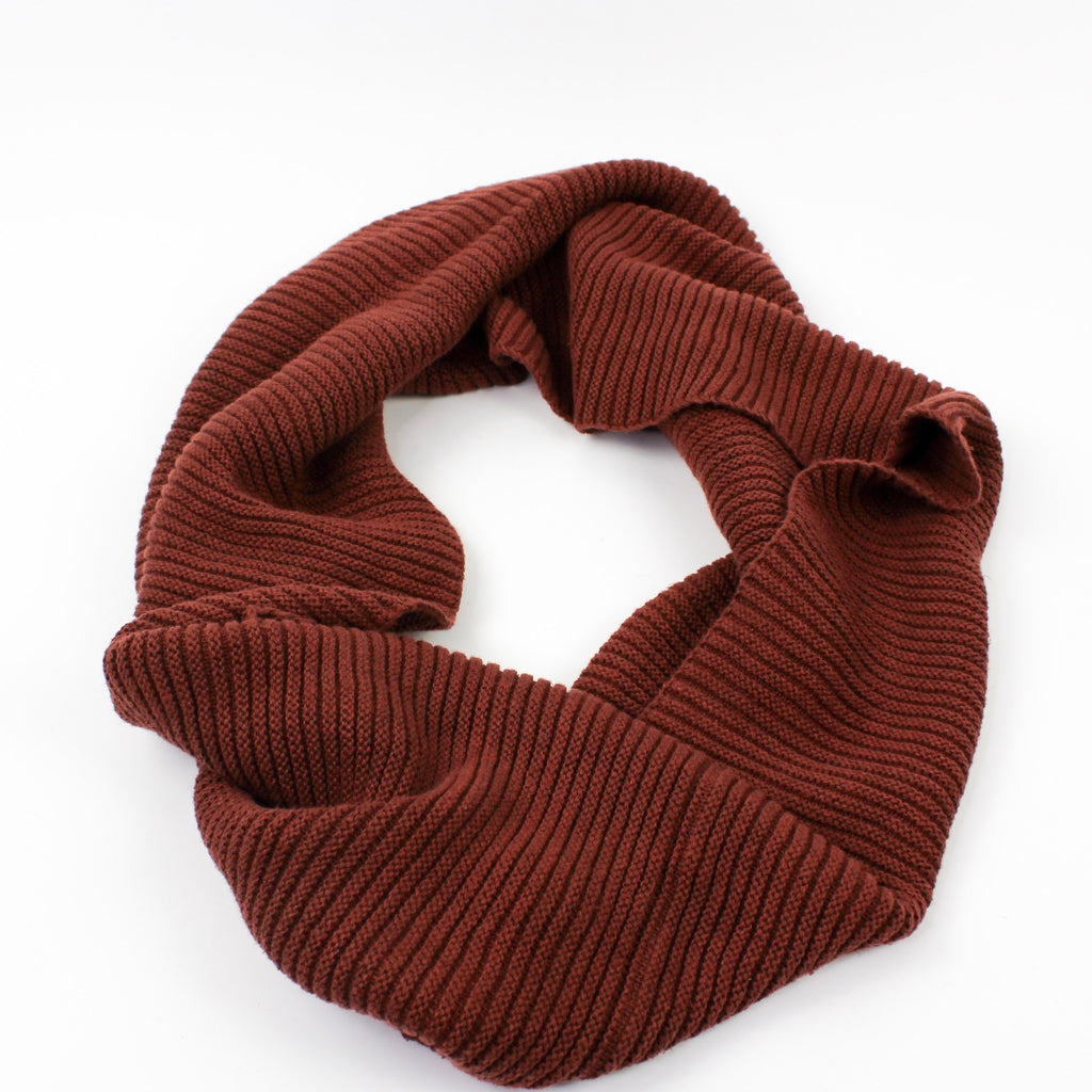 Infinity Scarf Sepia