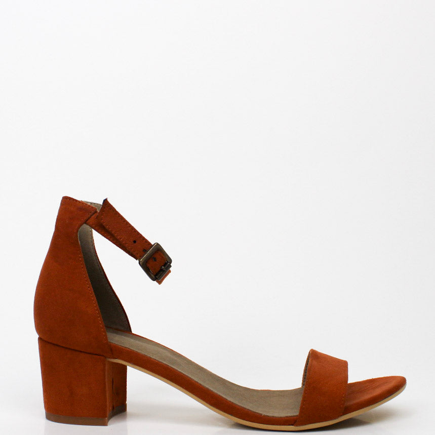 Irene Block Heels Orange